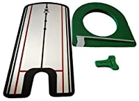 zechy Putting Mirror with Putting Cup - golf putting alignment training aid. Sink more putts.