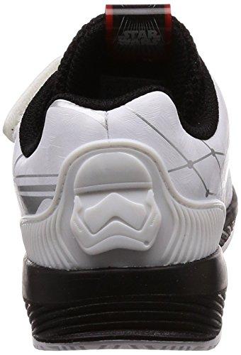 adidas Starwars RapidaRun I, Zapatillas de Deporte Unisex Niños Blanco (Ftwbla / Negbas / Escarl 000)