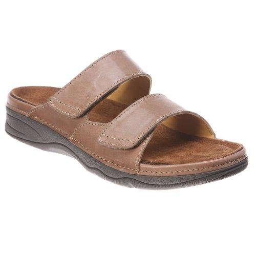 Drew Shoe Womens Milan Sandal Cork Leather