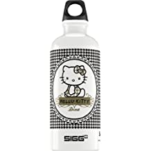 Sigg Hello Kitty Pepita Diva Water Bottle, 0.6-Liter, White/Black