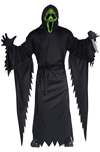 Fun World Costumes Men's Lite Up Ghost Face Adult Costume