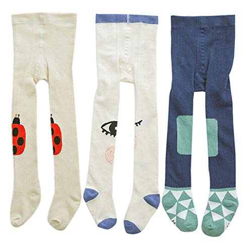 Baby Girls Tight Chriatmas Stocking Infant Kinits Cute Legging Pants Toddler Winter Warm Socks