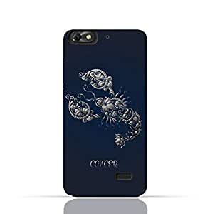 Huawei Honor 4C TPU Silicone Case with Zodiac-Sign-Cancer Design