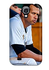 High Quality Braun Baseball Case For Galaxy S4 / Perfect Case