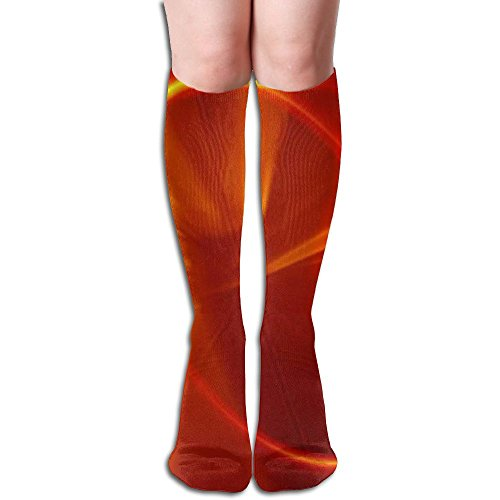 Futong Huaxia Women's Dazzle Colou Sexy Stockings Over The Knee Athletic Unisex Knee High Long Socks