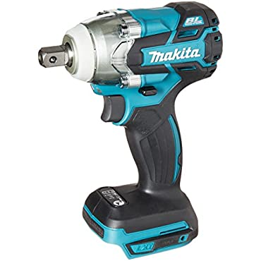 Makita XWT11Z 18V LXT Lithium-Ion Brushless Cordless 3-Speed 1/2 Impact Wrench, Tool Only,