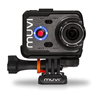 Veho Muvi K-Series K-2 NPNG | 1080p | HD | WiFi | Camcorder | Action Camera | Sports Camera | Action Cam | 12MP Camera | Waterproof Case | LCD Detachable Screen and Carry Case (VCC-006-K2NPNG)