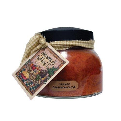 (A Cheerful Giver A Orange Cinnamon Clove 22 oz. Mama Jar Candle, 22oz)