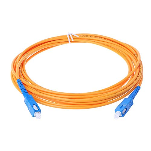 Ants-Store - SC/UPC-SC/UPC-SM 3mm Fiber Optic Jumper Cable Single Mode Extension Patch Cord 1m, 2m, 3m, 5m, 10m