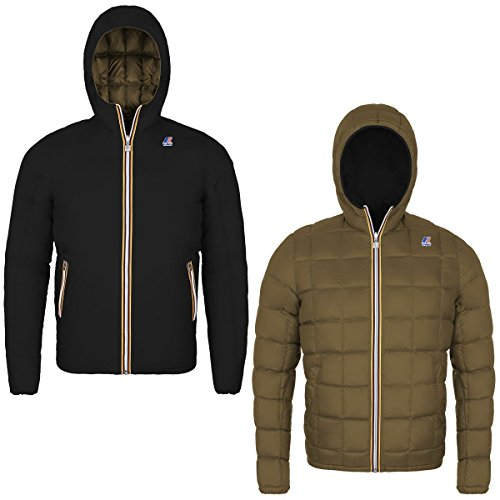 Jacke - Jacques Thermo Plus Double - Black-Brown Greenish - XS