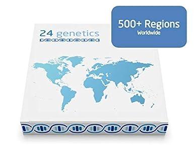 24genetics Test De Ancestros Prueba Adn Ancestros Con Mas De 500