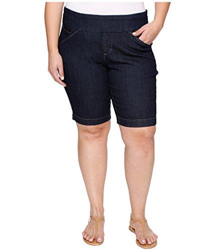 しっかりパレード延ばす[ジャグジーンズ] Jag Jeans Plus Size レディース Plus Size Ainsley Pull-On Bermuda Comfort Denim in Dark Shadow パンツ Dark Shadow 24W [並行輸入品]