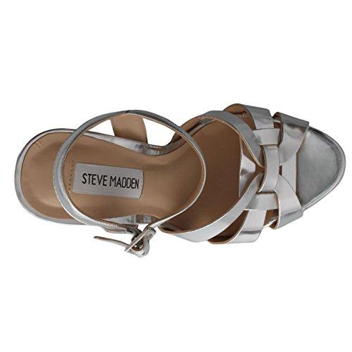 Steve Madden Mujer Kaiden Heeled Sandals Plata 1