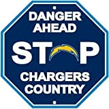 Fremont Die NFL San Diego Chargers Stop Sign