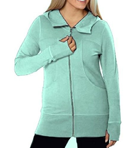 Kirkland Signature Ladies Hooded French Terry Jacket (X-Large, (French Terry Zip Hoodie Jacket)