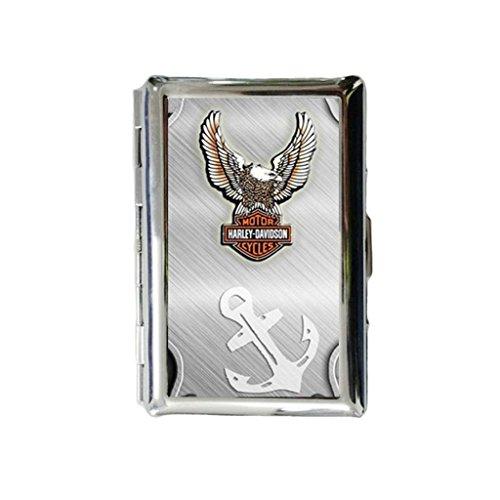 custom-harley-davidson-eagle-custom-rectangle-stainless-steel-cigarette-case-includes-bewild-bracele