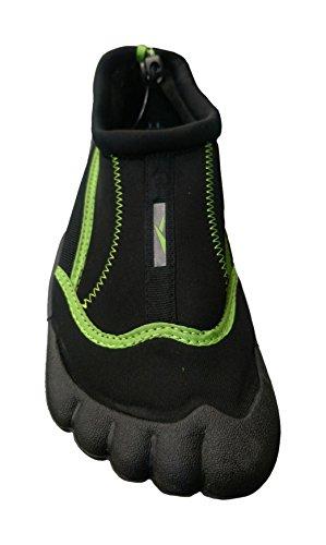GroßhandelsSockungs-Angebote WSD Mens-wasserdichte Schuhe für Yoga, Übung, Wasser, Strand, Tauchen, Aqua-Socken Schwarz