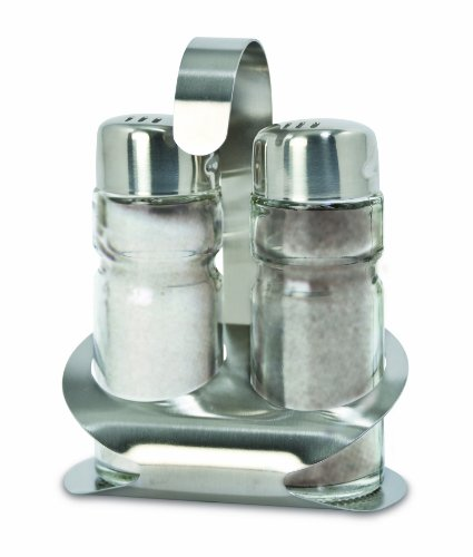 Cuisinox Salt and Pepper Shakers with Caddy