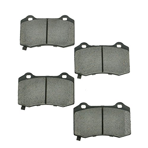 Rear Ceramic Brake Pad Set for CTS-V STS-V Camaro Chrysler Jeep SRT-8