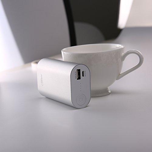 HAME 11000mAh Cargador Portátil de Energía Móvil para Smartphones iPhone 6s plus / 6 plus / 6s / 6 / 5s / 5, iPad, iPod, Samsung, Tablet PC, HTC Plata