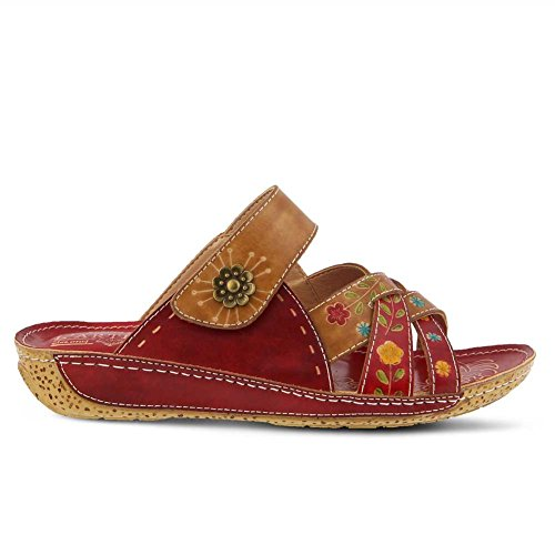 Lartiste Di Spring Step Womens Leigh Red Multi