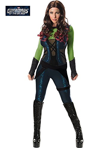 Rubie's Costume Co Women's Guardians of The Galaxy Gamora Costume, GOTG, X-Small