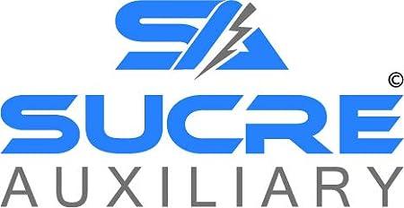 Barca Sucre Auxiliary /® 12 V//24 V USB 4,2 A Totale 2 x 2,1 A voltmetro ad Alta Potenza Doppia Presa accendisigari per Moto Auto