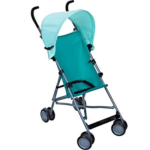 Umbrella Stroller with Canopy - Blue (Stroller Umbrella Cosco)