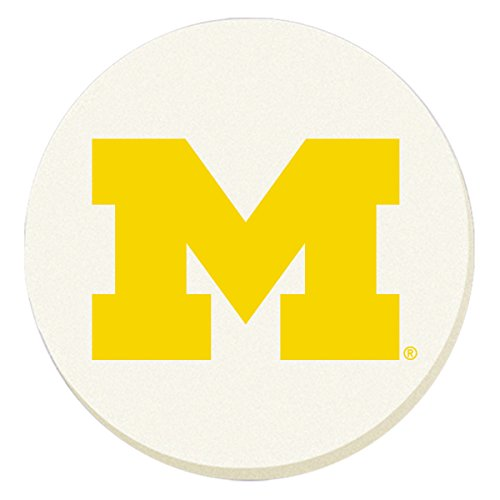 NCAA Michigan Wolverines Absorbent Coaster - Pack Of 4