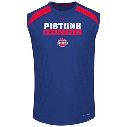 Royal Blue Detroit Pistons T-shirt - 7