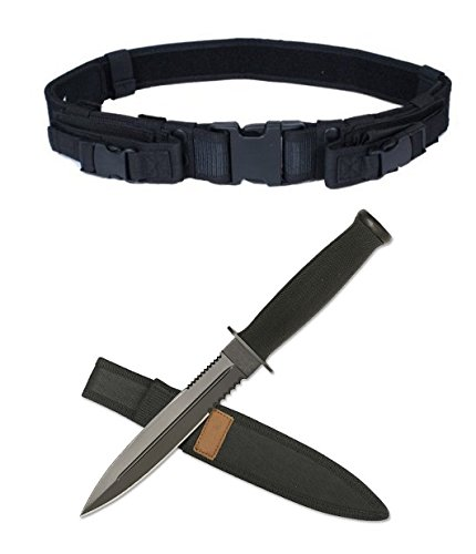 [Ultimate Arms Gear Fixed Blade Tactical Desert Dagger Boot Knife 11.5