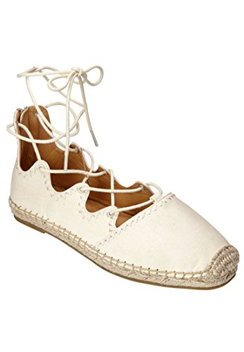 Comfortview Womens Wide Vanessa Flats Oatmeal