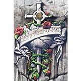 Whitesnake (Crest) Music Poster Print