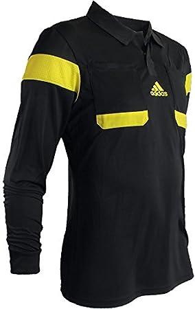 adidas Referee UCL 13 g73818 Jersey de Manga Larga para Hombre árbitro JerseyCamiseta de Color Negro