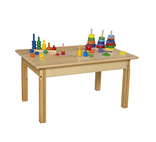 Wood Designs WD82318 Child's Table, 24'' x 36'' Rectangle with 18'' Legs by Wood Designs (Image #3)