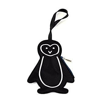 Lug Peekaboo Bag Tag, Midnight Penguin, One Size PEEKABOO-MIDNIGHT PENGUIN