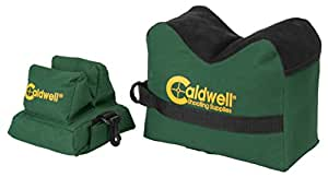 Caldwell DeadShot Boxed Combo (Front & Rear Bag) - Unfilled