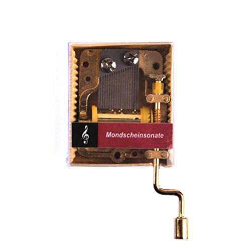 Ludwig van Beethoven - Moonlight Sonata (Mondscheinsonate) - Handcrank Music Box (Music Moonlight Box Sonata)
