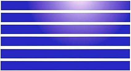 /braun reflektierend 6/Reflektierende Klebestreifen f/ür Warndreieck 28/x 2/cm/