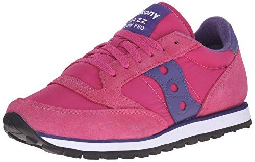 Saucony Originals Damen Jazz Low Pro Sneaker Pink Lila