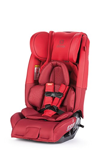 Diono Radian 3RXT All-in-One Car Seat, Red