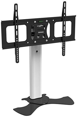 Top Lcd Tv Shelf (Duronic TVS1D1 Desktop TV Stand with Swivel and Tilt - Suitable for LCD | Plasma | LED | 3D | OLED TV's 32