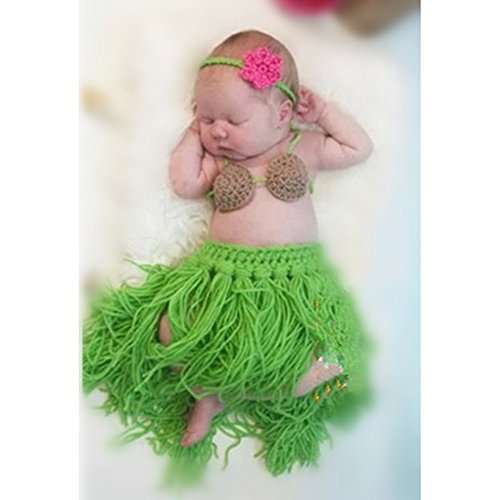 Amazon.com: Leegoal Baby Newborn 0-10 Months 2pcs Knitted Crochet ...