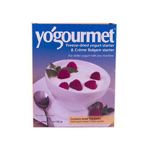 YOGOURMET YOGURT STARTER,FRZ-DRIED, 1 OZ