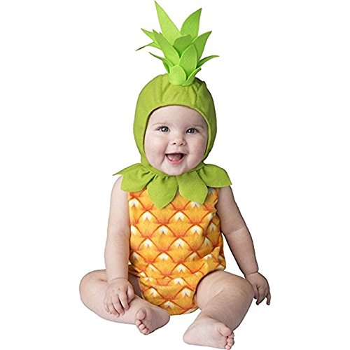 Pineapple Baby Infant Costume - Infant Medium