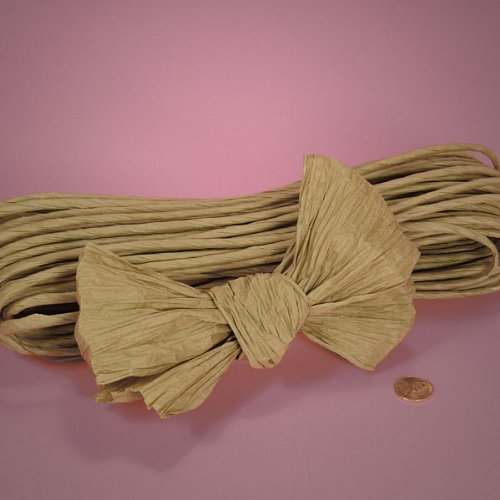 Natural Twisted Paper, 4-1/2 X 200Yd 4-1/2 X 200Yd Paper Mart
