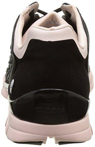 Geox Womens W Sukie 17 Fashion Sneaker Zwart