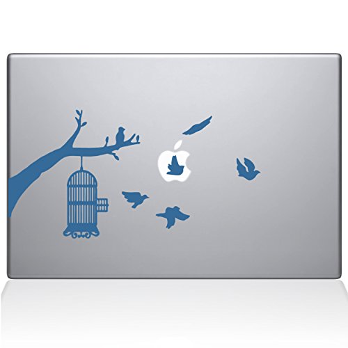 The Decal Guru Birdcage Tree Apple Ad Decal Vinyl Sticker, 12