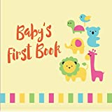 Tiny Angel Baby Memory Book of Firsts ~ Gender Neutral Keepsake Journal for Boys & Girls ~ 46 Pages Record Book ~ Envelopes included ~ Perfect Babyshower Gift ~ Hand and footprint page