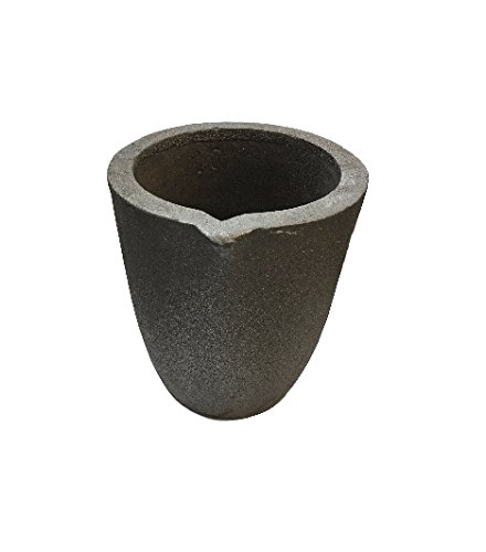 #10-12 Kg Foundry Clay Graphite Crucible Furnace Torch Melting Casting Refining Gold Silver Copper Brass Aluminum by Rosenthal Collection